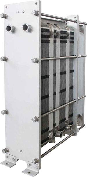 Plate and frame heat exchanger | HCRHEATEXCHANGER