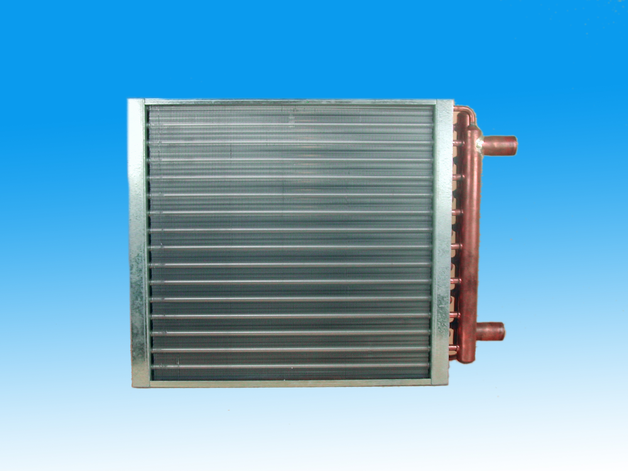 HTL Water to Air Heating Coil, heat exchanger